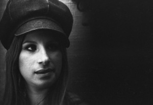 Barbra Streisand in the studio at a recording session1971© 1978 Ed Thrasher - Image 2995_0437
