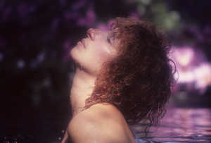 """Barbra Streisand in an outtake for the album session for """"Wet""""1979© 1979 Mario Casilli - Image 2995_0501"""