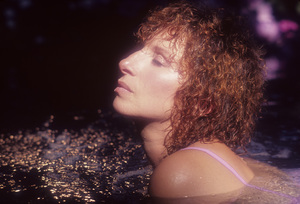 """Barbra Streisand in an outtake for the album session for """"Wet""""1979© 1979 Mario Casilli - Image 2995_0503"""