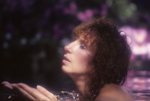 """Barbra Streisand in an outtake for the album session for """"Wet""""1979© 1979 Mario Casilli - Image 2995_0504"""