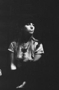 """Barbra Streisand in the studio at a recording session for the album """"Barbra Joan Streisand""""1971 © 1978 Ed Thrasher - Image 2995_0511"""