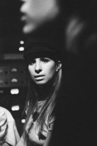 """Barbra Streisand in the studio at a recording session for the album """"Barbra Joan Streisand""""1971 © 1978 Ed Thrasher - Image 2995_0513"""