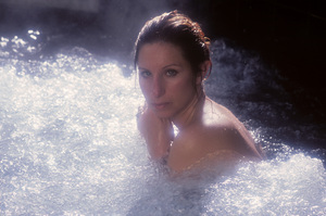 """Barbra Streisand in an outtake for the album session for """"Wet"""" 1979 © 1979 Mario Casill - Image 2995_0516"""