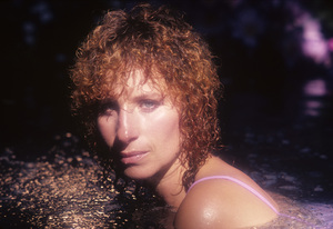 """Barbra Streisand in an outtake for the album session for """"Wet"""" 1979 © 1979 Mario Casill - Image 2995_0517"""