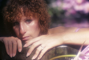 """Barbra Streisand in an outtake for the album session for """"Wet"""" 1979 © 1979 Mario Casill - Image 2995_0519"""