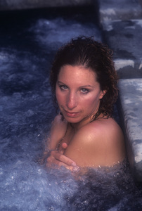 """Barbra Streisand in an outtake for the album session for """"Wet"""" 1979 © 1979 Mario Casill - Image 2995_0523"""
