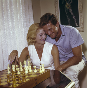 Rod Taylor and his wife Mary Beth Hilemcirca 1965© 1978 Eric Skipsey - Image 3013_0109