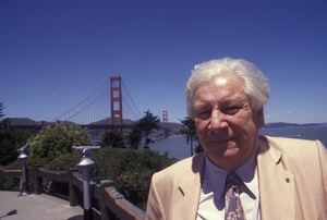 Peter Ustinov in San Francisco1991 © 1991 Gunther - Image 3044_0020