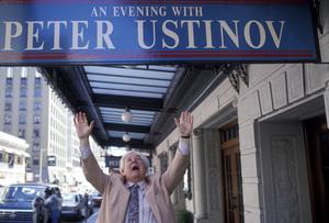 Peter Ustinov in San Francisco1991 © 1991 Gunther - Image 3044_0021