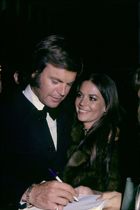 "Robert Wagner and Natalie Wood at ""The 44th Annual Academy Awards""1972© 1978 Gary Lewis - Image 3064_0859"