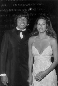 Raquel Welch and Joe Namatharriving at the 44th Annual Academy Awards1972 - Image 3084_0125