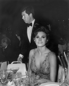 Raquel Welch withhusband Patrick CurtisC. 1967Photo by Joe Shere - Image 3084_0139