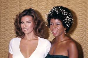 Raquel Welch and Minnie Ripertoncirca 1970s © 1978 Gary Lewis - Image 3084_0204