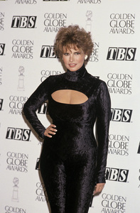 """Raquel Welch at """"The 49th Annual Golden Globe Awards""""1992 © 1992 Gary Lewis - Image 3084_0209"""