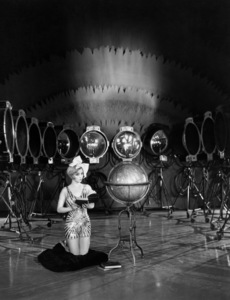 Alice White on a stage at the First National Studioscirca 1930Photo by Bert Longworth - Image 3089_0005