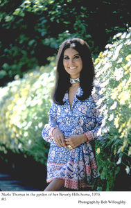 Marlo Thomas at home in Beverly Hills 1970 © 1978 Bob Willoughby - Image 3091_0027