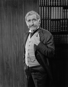 """James Whitmore in the stage production of """"The Magnificent Yankee""""1976 © 1978 Eric Skipsey - Image 3096_0001"""