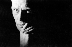 """Richard Widmark during the filming of """"Saint Joan"""" 1957 © 1978 Bob Willoughby  - Image 3098_0024"""