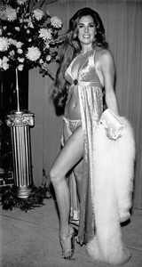 """Edy Williams at the """"Marooned"""" premiere in Hollywood, CA1969 - Image 3105_0013"""