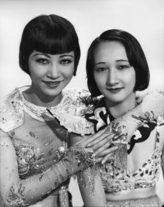 Anna May Wong with her sistercirca 1930s** I.V. - Image 3119_0071