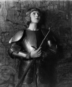 Ina Claire as Joan of Arc,  late 1910