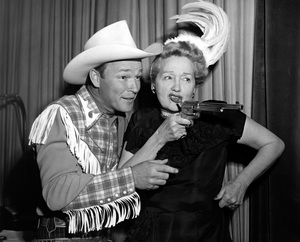 Roy Rogers and Hedda Hoppercirca 1950sPhoto by Gerald Smith - Image 3187_0566