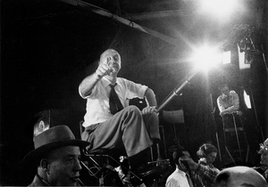 "Director Otto Preminger on the set of ""Carmen Jones""1954 © 1978 Bob Willoughby - Image 3208_0011"
