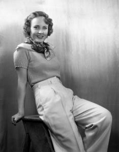 Madge Evanscirca 1935© 1978 James Doolittle / ** K.K. - Image 3231_0461