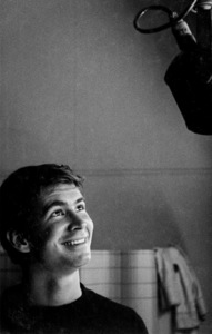 Anthony Perkins under a microphone, 1956. © 1978 Bill AveryMPTV - Image 32_205