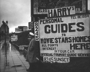 Hollywood Landmarks, Sunset Blvd.1937Copyright John Swope Trust / MPTV - Image 3250_0012