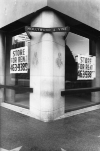 Hollywood and Los Angeles LandmarksThe corner of Hollywood and Vine/for sale.1978 © 1978 Ulvis Alberts - Image 3250_0017