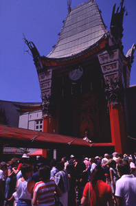 Hollywood and Los Angeles LandmarksChinese theater on Hollywood Blvd., 1977 © 1978 Ulvis Alberts - Image 3250_0041