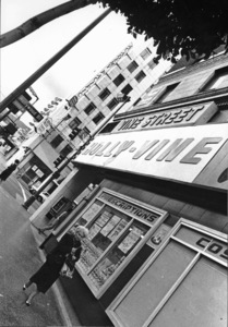 Hollywood and Los Angeles LandmarksHollywood  and Vine, 1980 © 1980 Ulvis Alberts  - Image 3250_0048