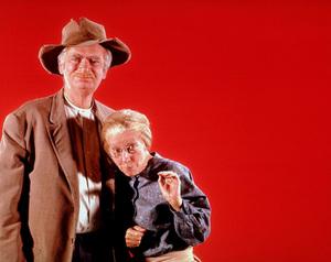 """""""Beverly Hillbillies, The""""Irene Ryan, Buddy Ebsen1964 CBSPhoto by Gabi RonaMPTV - Image 3265_0024"""