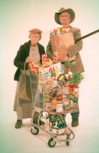 "Irene Ryan, Buddy Ebsenc. 1964""Beverly Hillbillies, The"" © 1978 Glenn Embree - Image 3265_0061"