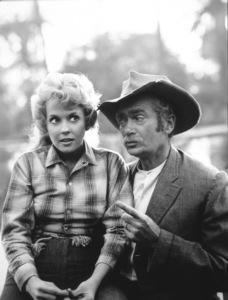 """The Beverly Hillbillies""Donna Douglas,Buddy Ebsen1964 CBSPhoto By Gabi Rona - Image 3265_0070"
