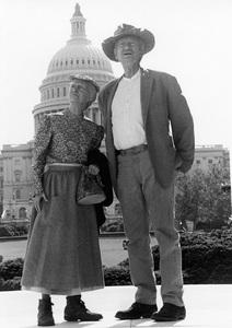 """The Beverly Hillbillies""Irene Ryan, Buddy Ebsencirca 1966**I.V. - Image 3265_0121"