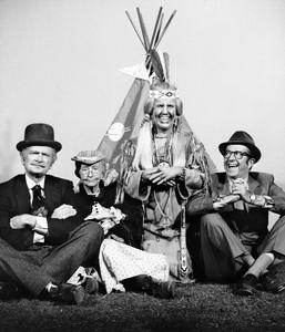 """The Beverly Hillbillies""Buddy Ebsen, Irene Ryan, Kathleen Freeman, Phil Silverscirca 1966**I.V. - Image 3265_0123"