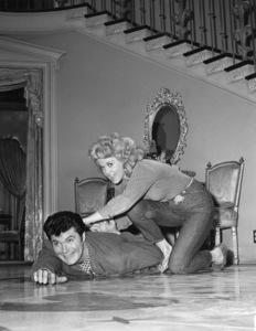 """The Beverly Hillbillies""Donna Douglas, Max Baer Jr.CBS,  TV , 1963** I.V. - Image 3265_0156"