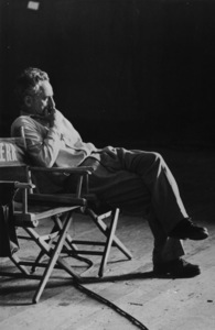 "Elia Kazan, director, sitting on the set of ""The Arrangement,"" 1967. © 1978 Bruce McBroomMPTV - Image 3272_107"