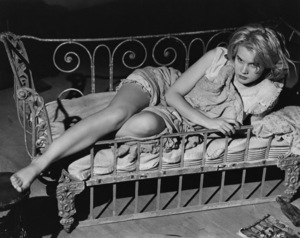"""""""Baby Doll"""" Carroll Baker1956 Warner BrothersPhoto by Floyd McCarty - Image 3277_0004"""