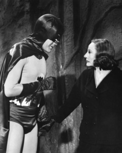 """Batman""Adam West and Tallulah Bankhead1966 ABC**I.V. - Image 3285_0124"