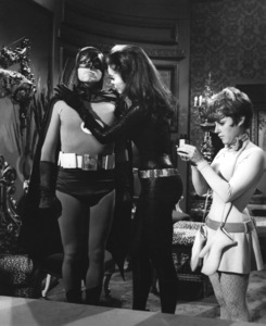 """Batman""Adam West, Julie Newmar, and Lesley Gore1966 ABC**I.V. - Image 3285_0127"