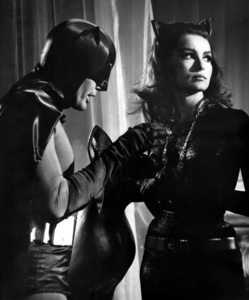 """Batman""Adam West and Julie Newmar1966 ABC**I.V. - Image 3285_0128"