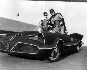 """Batman""Burt Ward and Adam West1966 ABC**I.V. - Image 3285_0133"