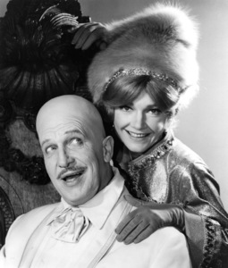 """Batman""Vincent Price and Anne Baxter1966 ABC**I.V. - Image 3285_0137"