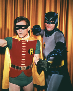 """Batman""Burt Ward,  Adam Westcirca 1967ABC**I.V. - Image 3285_0179"