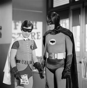 """""""Batman""""Burt Ward, Adam Westcirca 1960s© 1978 Jean Cummings - Image 3285_0191"""