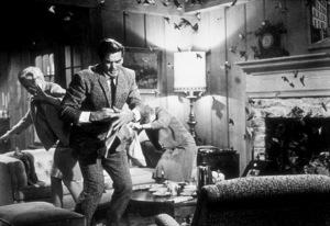 """""""The Birds,""""Tippi Hedren, Rod Taylor.1963 Universal - Image 3302_0003"""