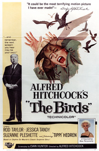 """""""The Birds"""" (Poster)1963 Universal - Image 3302_0011"""